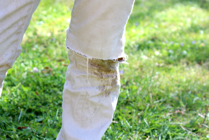 Grass Stained Pants